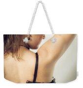 Woman Portrait Weekender Tote Bag