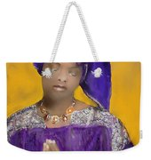 Woman Praying Weekender Tote Bag