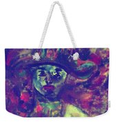 Woman With A Hat Weekender Tote Bag