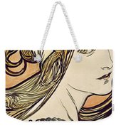 Woman With A Headscarf Weekender Tote Bag
