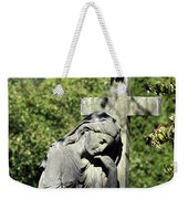 Woman With Cross Cave Hill Cemetery Louisville Kentucky Usa Weekender Tote Bag