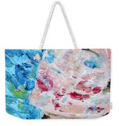 Woman With Necklace - Oil Portrait Weekender Tote Bag