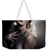 Woman With Nude Breast In Chair 1286.03 Weekender Tote Bag