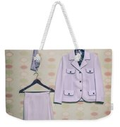 Woman's Clothes Weekender Tote Bag by Joana Kruse