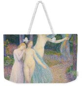 Women Amongst The Trees Weekender Tote Bag by Hippolyte Petitjean