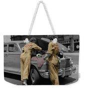 Women Auto Mechanics Weekender Tote Bag
