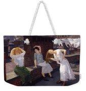 Women Drying Their Hair 1912 Weekender Tote Bag