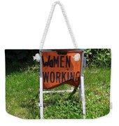 Women Working Weekender Tote Bag