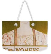 Womens Edition Buffalo Courier Weekender Tote Bag