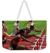 Womens Hurdles 3 Weekender Tote Bag
