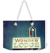 Wonder Lodge Weekender Tote Bag