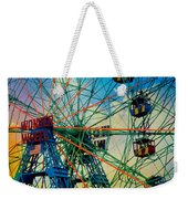 Wonder Wheel Weekender Tote Bag
