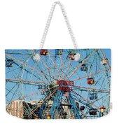 Wonder Wheel Of Coney Island Weekender Tote Bag