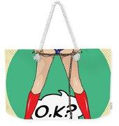 Wonder Woman 5 Weekender Tote Bag