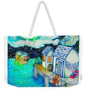 Woobies Character Baby Art Colorful Whimsical Design By Romi Neilson Weekender Tote Bag