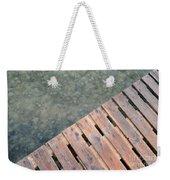 Wood And Sea Weekender Tote Bag