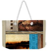 Wood And Stone Rectangular Textures Weekender Tote Bag
