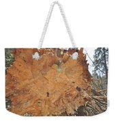 Wood Art Weekender Tote Bag