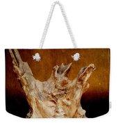 Wood Carving Weekender Tote Bag