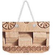 Wood Carving Weekender Tote Bag by Tom Gowanlock