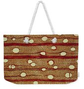 Wood Cross Section Weekender Tote Bag