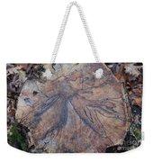Wood Design Weekender Tote Bag