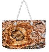 Wood Detail Weekender Tote Bag by Matthias Hauser