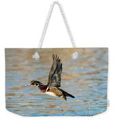 Wood Duck Drake Weekender Tote Bag