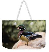 Wood Duck Drake In Breeding Plumage Weekender Tote Bag