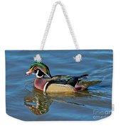 Wood Duck Male Calling Weekender Tote Bag