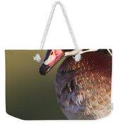 Wood Duck Portrait Weekender Tote Bag