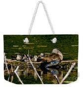 Wood Duck Rest Time Weekender Tote Bag