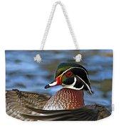 Wood Duck Standing Ovation Weekender Tote Bag