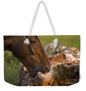 Wood Eater Weekender Tote Bag