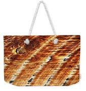 #woodgrain Weekender Tote Bag