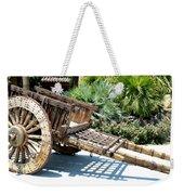 Wood Hand Cart II Weekender Tote Bag