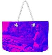 Wood Nymph In Pink And Blue Weekender Tote Bag