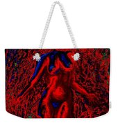 Wood Nymph In Red Power Weekender Tote Bag