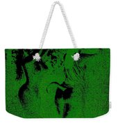 Wood Nymphs In Green Night Sight Weekender Tote Bag