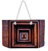 Wood Panel Weekender Tote Bag