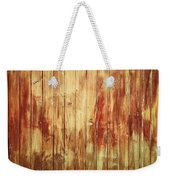 Wood Panels Weekender Tote Bag