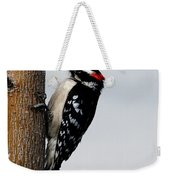 Wood Pecker Weekender Tote Bag