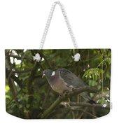 Wood Pigeon Weekender Tote Bag