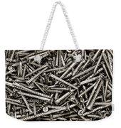 Wood Screws  Weekender Tote Bag