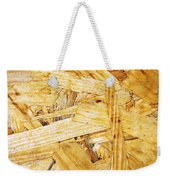 Wood Splinters Background Weekender Tote Bag