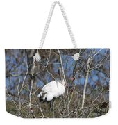 Wood Stork In A Tree Weekender Tote Bag