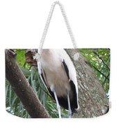 Wood Stork On A Limp Weekender Tote Bag