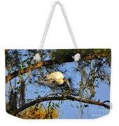 Wood Stork Perch Weekender Tote Bag