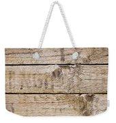 Wood Texture Weekender Tote Bag
