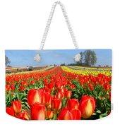 Woodburn Tulip Fields Weekender Tote Bag